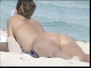 Exhibitionist Wife Morgan First Time At The Nude Beach!